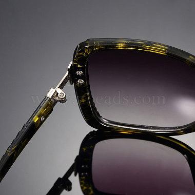 Léopard des femmes de lunettes de soleil d'été oeil de chat(SG-BB14525-1)-2