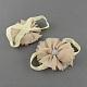 Elastic Baby Cloth Flower Foot Bands(OHAR-R109-M)-2
