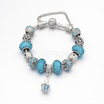 SkyBlue Alloy Bracelets