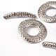 Tibetan Silver Toggle Clasps(X-LF10975Y)-3