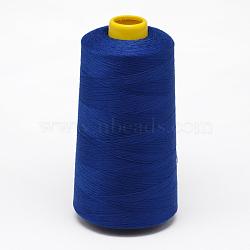 100% polyester filé fil à coudre de fibres, marineblue, 0.1 mm; sur 5000 mètres / rouleau(OCOR-O004-A74)