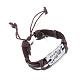 Unisex Trendy Leather Cord Bracelets(BJEW-BB15581-B)-4