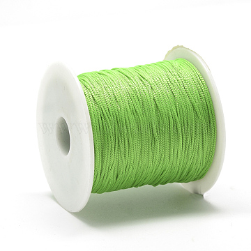 0.8mm Lime Polyester Thread & Cord