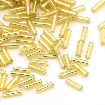 6mm LightKhaki Glass Beads