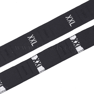 Black Cloth Ribbon
