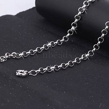 Exquisite Brass Rolo Chain Necklaces(NJEW-EE0002-03-002P)-4