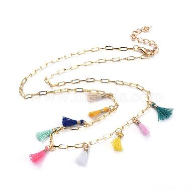 Colorful Polycotton Necklaces