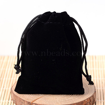 Black Velvet Pouches