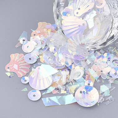 Light Blue Plastic Beads