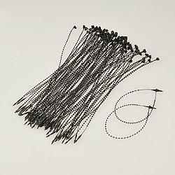 Attaches de câble pp, attaches autobloquantes, cravates zip noir, longueur d'environ 190 mm , 1000 pcs /sachet (TOOL-D013-7)