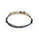 Cowhide Leather Cord Bracelets(BJEW-JB04494-03)-3