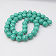 Synthetic Turquoise Beads Strands(X-TURQ-H038-6mm-XXS11)-1