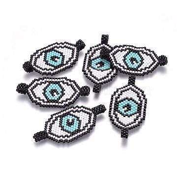 48mm Black Eye Glass Links