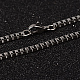 304 Stainless Steel Box Chain Necklaces(X-NJEW-O096-07)-1
