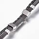 Leather Braided Cord Bracelets(BJEW-E324-A10)-3