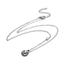 Stainless Steel Necklaces(NJEW-F267-09P)