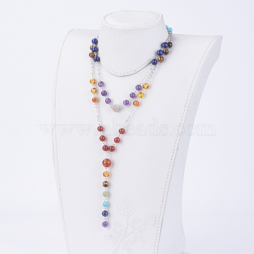 Colorful Mixed Stone Necklaces