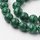 Synthetic Malachite Bead Strands(G-G735-70-12mm)-3