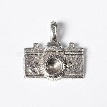 Antique Silver Electrical Appliance Alloy Pendants