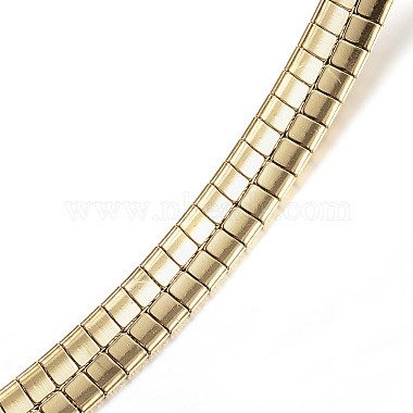 304 Stainless Steel Necklaces(X-NJEW-E080-05G)-3