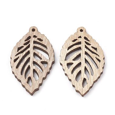 Undyed Wood Pendants(X-WOOD-T008-38)-2