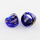 Handmade Gold Sand Millefiori Lampwork Rings(RJEW-Q150-M16-B)-2