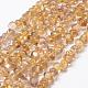 Natural Citrine Beads Strands(G-P406-44)-1