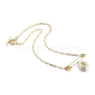 Natural Pearl Pendant Necklaces(NJEW-JN03018-01)-2