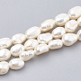 7mm Seashell Color Nuggets Pearl Beads(X-PEAR-S012-77A)