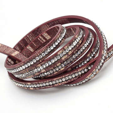 6mm IndianRed Imitation Leather Thread & Cord