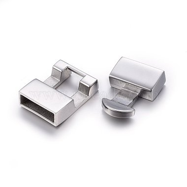 304 Stainless Steel Snap Lock Clasps(STAS-E440-69P)-2