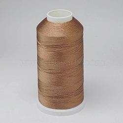 Nylon Thread, For Tassel Making, Peru, 0.3mm, about 1000m/roll(NWIR-D047-12)