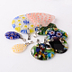 Mixed Shape Handmade Millefiori Glass Pendants(LK-P028-16)-2