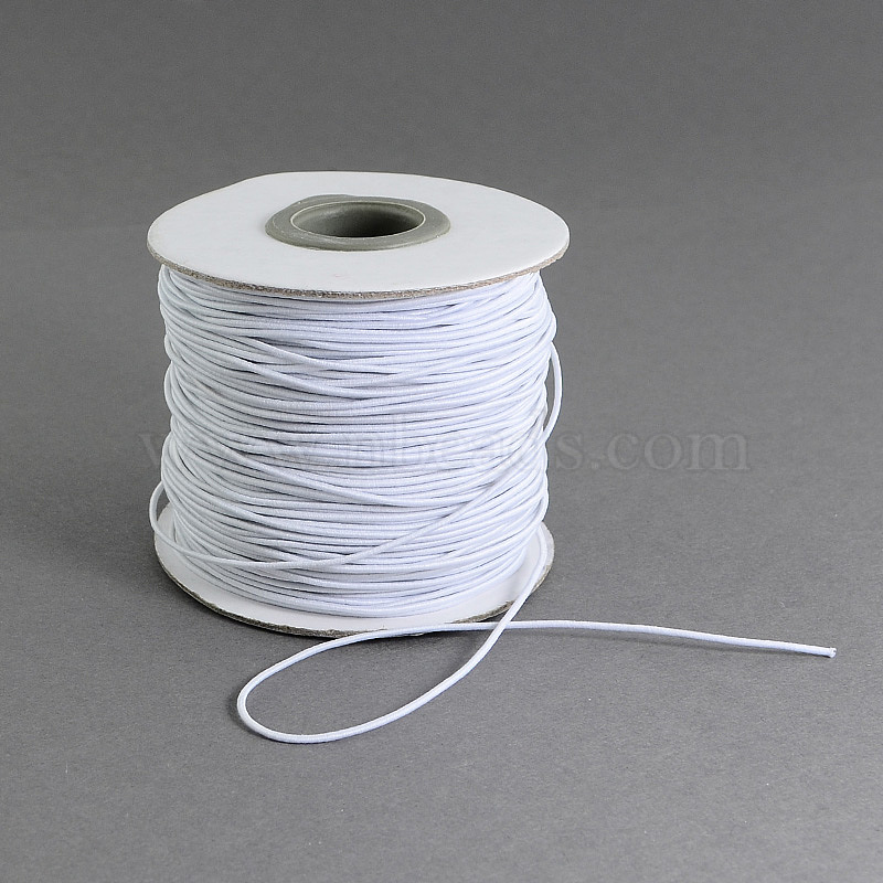 Round Elastic Cord With Fibre Outside And Rubber Inside For