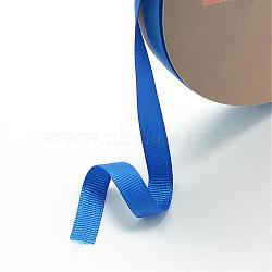 """Ruban gros-grain, bleu royal, 3/8"""" (10 mm); environ 100yards / rouleau (91.44m / rouleau)(RW10mmY040)"""