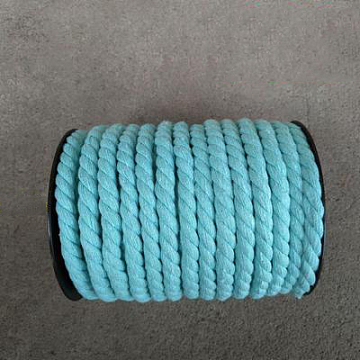 12mm Turquoise Cotton Thread & Cord
