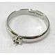 montages d'anneaux en laiton réglables et réglages(X-E141)-1