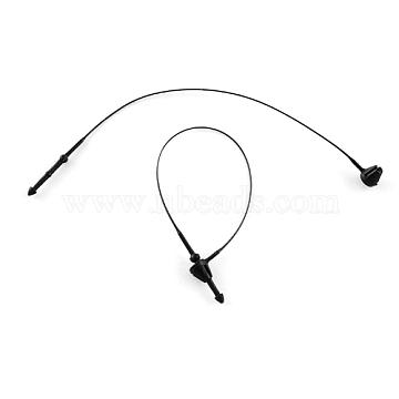 PP Cable Ties, Tie Wraps, Zip Ties, Black, 85mm(TOOL-R023-85mm-01A)