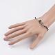 Adjustable Natural Tiger Eye Cord Beaded Bracelets(BJEW-JB03583-02)-4