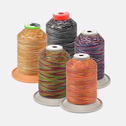 Fil à coudre de nylon, couleur mixte, 0.2~0.39 mm; environ 1500~5000 mètres / rouleau(NWIR-O006-A)