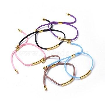 Mixed Color Suede Bracelets