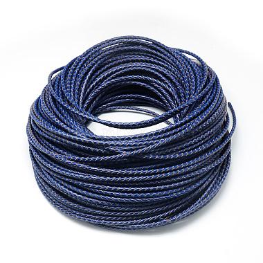 Leather Braided Cord(WL-Q005-5mm-24)-1