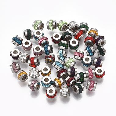 Perles de strass en 304 acier inoxydable(STAS-T041-03)-1