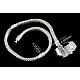 Brass European Style Bracelets with Brass Clasp(X-PPJ008Y)-1