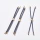 Nylon Twisted Cord Bracelet Makings(MAK-F018-07G-RS)-1