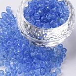 4mm LightBlue Glass Beads(SEED-A004-4mm-6)