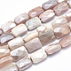 Electroplate Natural Sunstone Beads Strands(G-K256-19A-02)-1