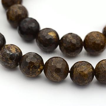 6mm Round Bronzite Beads