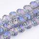 Electroplate Glass Beads Strands(EGLA-T018-01)-2