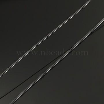 Korean Elastic Crystal Thread, Stretch Bracelet String, Round Beading Cord, Clear, 0.6mm, about 87.48 yards(80m)/roll(EW-L003-0.6mm-01)